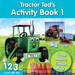 Tractor Ted's Activity Book 1 image