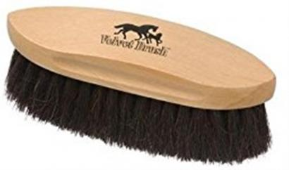 Hy Shine Pro Soft Grip Long Bristle Dandy Brush Navy image