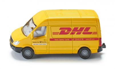 Siku Minature DHL Express Courier Post Van  image