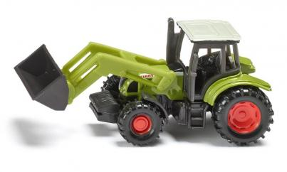 Siku Minature Claas Ares Tractor with Front Loader image