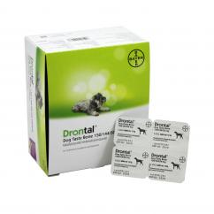 Drontal Plus Dog Wormer Tablet  image