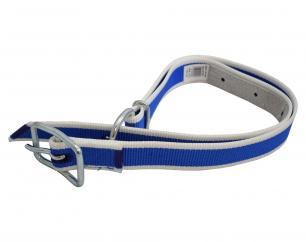 Blue & White Cow Collar  image