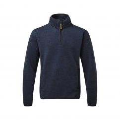 Fortress Easton 1/4 Zip Sweater Navy Large image