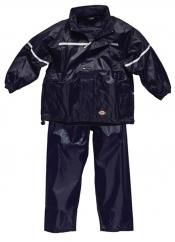 Dickies Childrens Waterproof Suit in Navy image