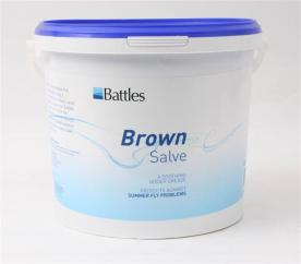 Battles Brown Salve Soothing Udder Grease  image