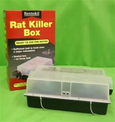 Rentokil Pre Baited Rat Killer Box  image