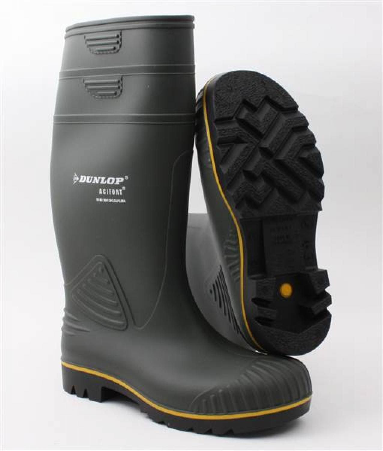 Agricultural Farming Welly Boots DUNLOP ACIFORT HEAVY DUTY FULL SAFETY Wellies
