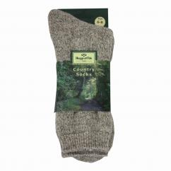 Hoggs Country Short Sock H430 Brown  image