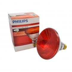 Infrared Screw Fit 100w Ruby Heat Lamp Bulb  image