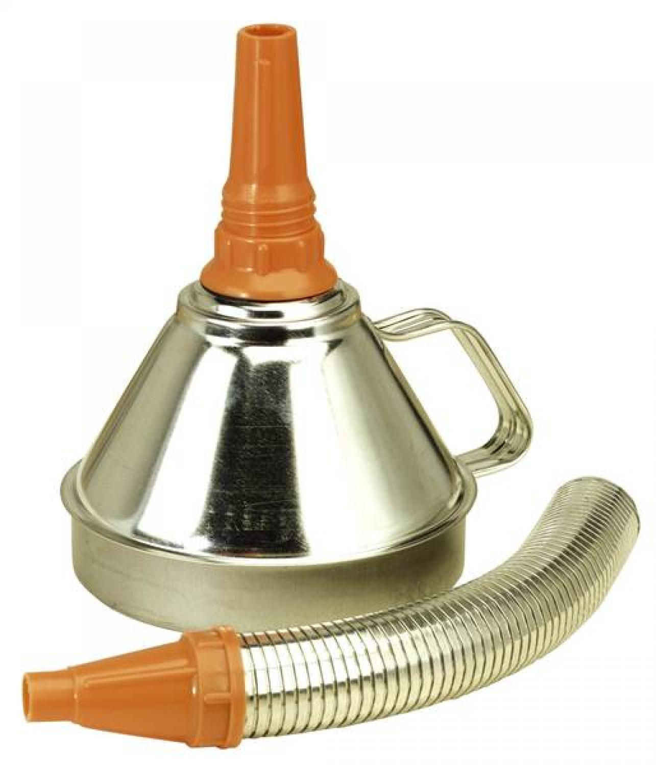 Buy Sealey Metal Funnel with Flexi Spout & Filter 160mm