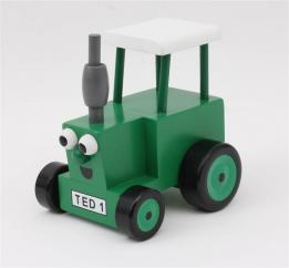 Tractor Ted Wooden Toy Tractor image