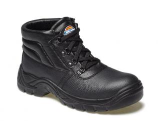 Dickies Redland Super Safety Chukka Boot in Black  image