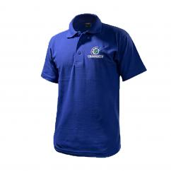 Grassmen Adults Blue Polo T-Shirt image