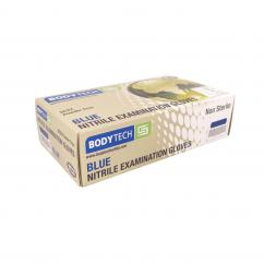 Bodytech Disposable Blue Nitrile Gloves DC22 Small  image