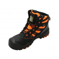 Buckler BViz2 OR Hi Vis Full Safety Boot Black  image