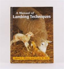 A Manual of Lambing Techniques Book  image