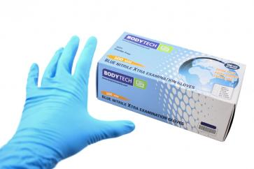 Bodytech Long Cuff Nitrile Gloves image