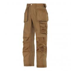Snickers 3214 Craftsman Holster Pocket Brown Trousers   image