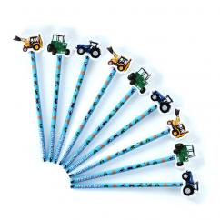 Tractor Ted Pencil & Topper image