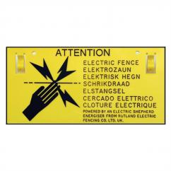 Rutland Electric Fence Warning Signs  image