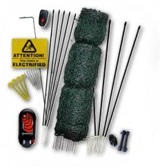 Hotline Deluxe Poultry Electric Fence Netting Kit & Hotgate  image
