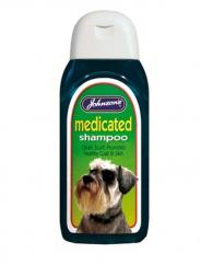 Johnsons Medicated Shampoo image
