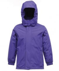 Regatta Kids Squad Jacket in Purple  image
