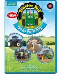 DVD Tractor Ted Goes Farming image