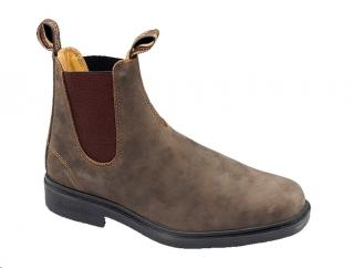 Blundstone 1306 Dressed Rustic Brown Dealer Boots  image