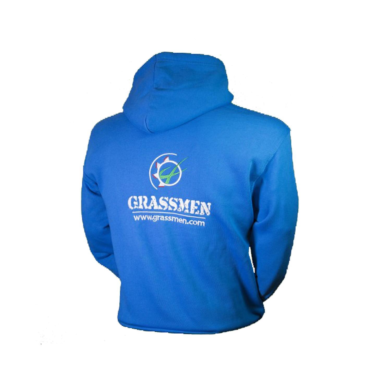 Grassmen Childrens Blue Hoody