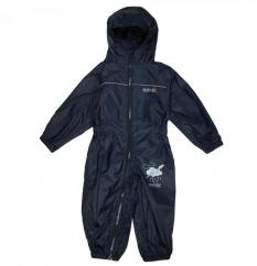 Regatta Childs Puddle Rainsuit in Navy  image
