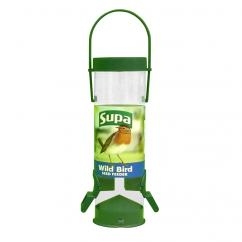 Supa Two Port Plastic Wild Bird Seed Feeder image