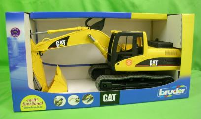 Bruder CAT Caterpillar Excavator 1:16  image