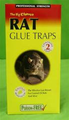 Big Cheese Rat Glue Traps (2)  image