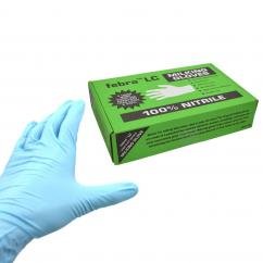 Febra Long Cuff Nitrile Milking Gloves  image