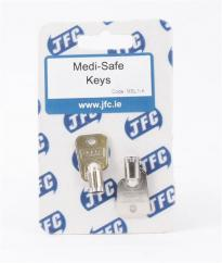 JFC Replacement Keys for Medi Safe Medicine Cabinet image