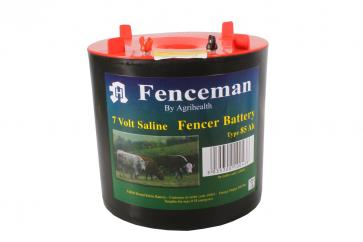 85ah Electric Fencer Battery with Round Bottom image