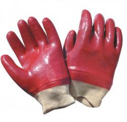 PVC Coated Red Gloves  image
