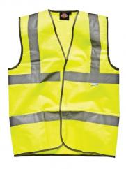 High Visibility Highway Waistcoat in Yellow  image