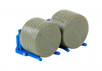 Britains Double Bale Lifter & Two Bales image