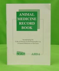 Animal Medicine Record Book image
