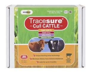 Animax Tracesure Cu/I Bolus for Cattle  image