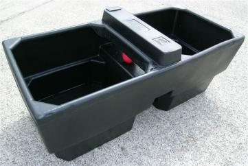 JFC Plastic 90 Gallon Double Water Drinking Trough  image