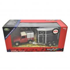Britains 43239 Land Rover & Horsebox Set image