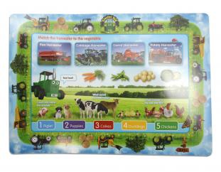 Tractor Ted Harvester & Animals Placemat image