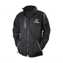 Grassmen Adult Softshell Jacket Black image
