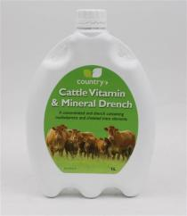 Country Cattle Vitamin & Mineral Drench 1L image