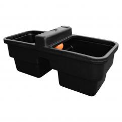 JFC Plastic 40 Gallon Double Water Drinking Trough  image