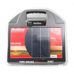 Hotline Fire Drake Solar Powered Electric Fencer 67 image