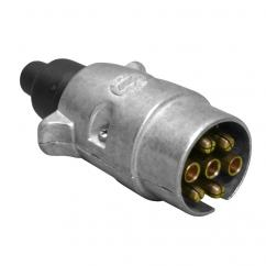 7 pin Metal Trailer Plug  image